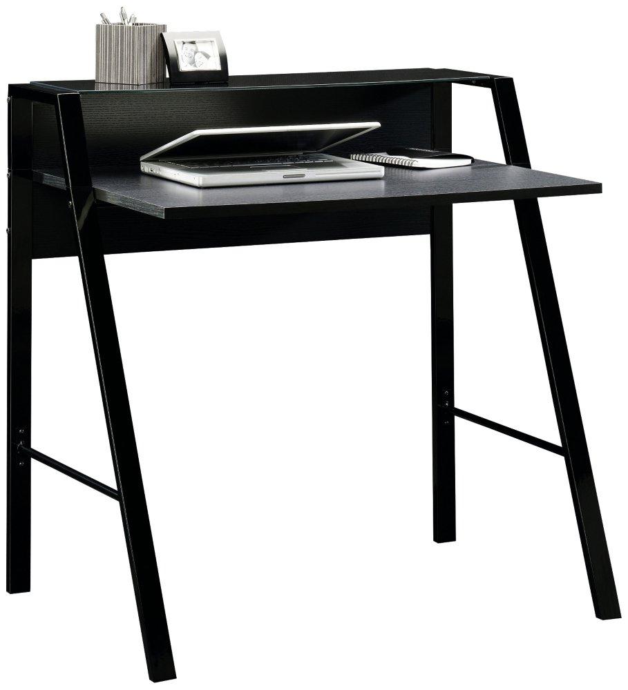 Amazon.com: Sauder Beginnings Desk, Black: Kitchen & Dining