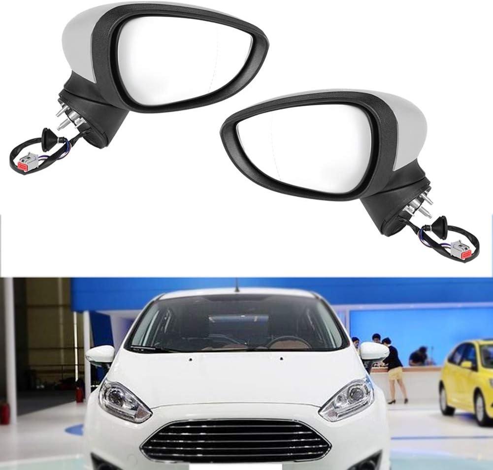 SANON R/étroviseur /Électrique /Électrique Complet Aile R/étroviseur R/étroviseur pour Ford Fiesta Mk7 2008-2012
