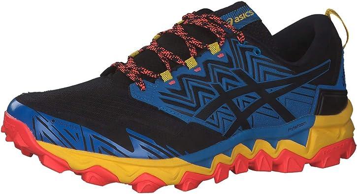 ASICS Gel-Fujitrabuco 8 G-TX, Zapatillas de Running para Hombre, Directoire Azul Negro, 49 EU: Amazon.es: Zapatos y complementos