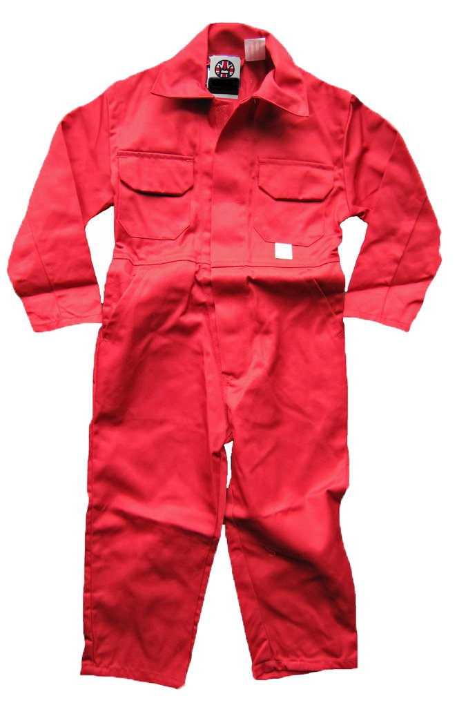 Duke and Twig Kids Childrens Boilersuit Coveralls Overalls