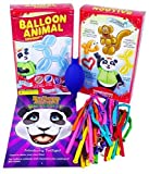 Balloon Animal University Kit 25 Balloons Custom Colors with Qualatex, Unbreakable Air Pump, Instruction Book, and Companion Online Video Training Access. Learn to Make Balloon Animals Starter Kit.
