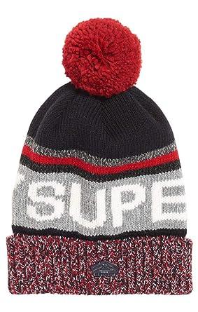 a5b00473700 Superdry Men s Super Sd Logo Beaniie Beanie