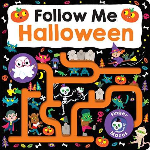 Maze Book: Follow Me Halloween (Finger