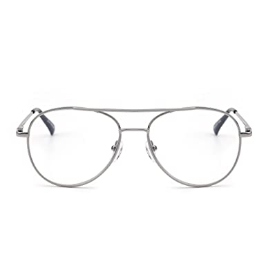 1bfbe9a582f Retro Reading Glasses Metal UV400 Reader Women Men Spring Hinge Eyewear  +1.25  Amazon.co.uk  Clothing