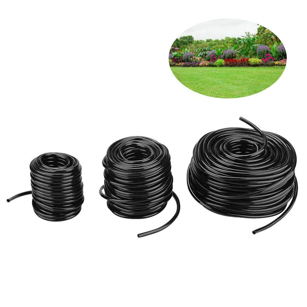 Durable ABS Non-toxic Micro Drip System Connecting Pipe 10m Agriculture Water Hose for Garden Irrigation System Zyyini Garden Irrigation Hose