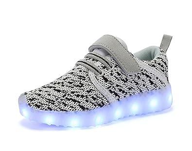 454f59522e372 LED Light Up Chaussures Enfants Filles Garçons Sneaker Baskets mode ...