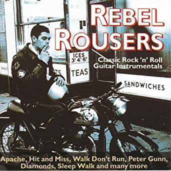 classic rock 39 n 39 roll guitar instrumentals rebel rousers mp3 downloads. Black Bedroom Furniture Sets. Home Design Ideas