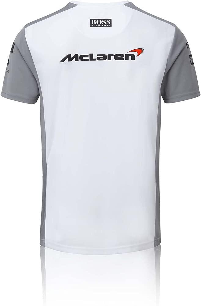 Vodafone McLaren Camiseta Manga Corta Team Blanco 2XL: Amazon.es ...