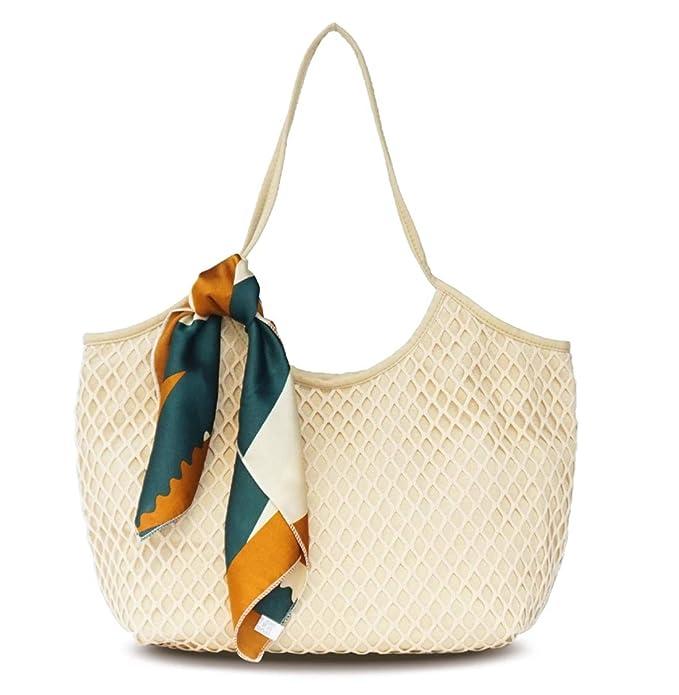 Amazon.com: Leviro - Bolso de playa para mujer, bolso de ...