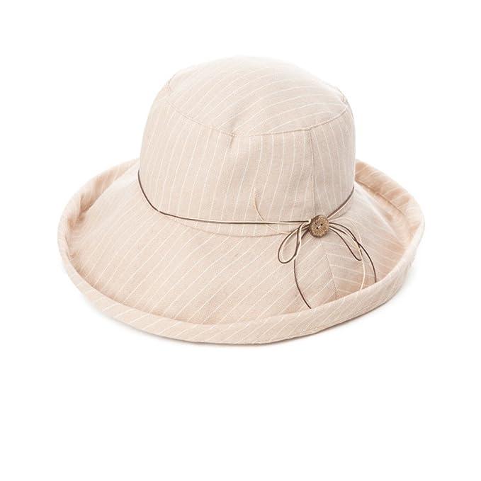 La Versione Coreana Di Sunhat Cappello Da Sole Pieghevole Signora Sole  Cappello Outdoor-B Unica  Amazon.it  Abbigliamento 8998f350f779