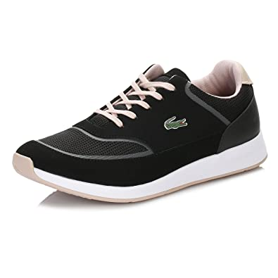 9f5ce0283a13 Lacoste Womens Black Chaumont Lace 316 Spw Trainers