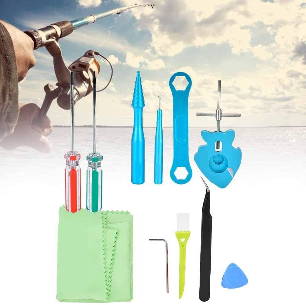 Niady Angelrolle Wartung Tool Kit Schmierstoff /Öl Fett Set Schwarz