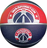 NBA Washington Wizards Spaldingteam Logo, Multi, 29.5''