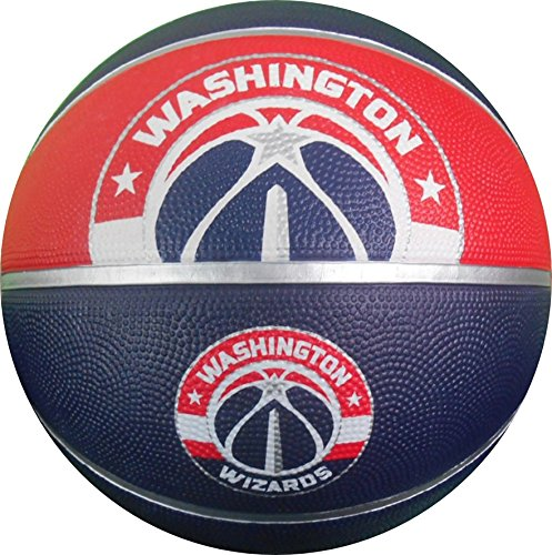 NBA Washington Wizards Spaldingteam Logo, Multi, 29.5'' by Spalding