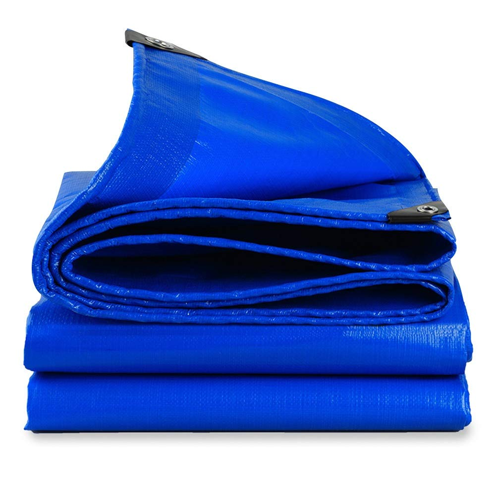 LIXIONG オーニング 屋外の 日焼け止め サンバイザー 酸化防止 保存料 メタルアイレット キャンバス、 23サイズ (色 : 青, サイズ さいず : 7.8x9.8m) 7.8x9.8m 青 B07Q2BRK6V