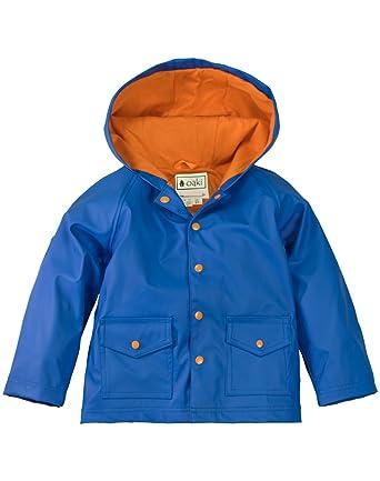 88c4032e3403 Amazon.com  OAKI Children s Rain Jacket for Boys Girls Toddlers Kids ...