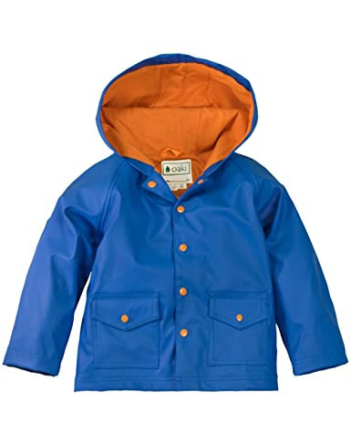 OAKI Children's Rain Jacket for Boys Girls Toddlers Kids