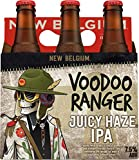 New Belgium Voodoo Ranger Juicy Haze IPA, 7.5 % ABV, 12 fl oz, 6ct