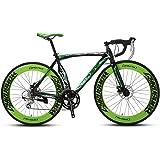 Cyrusher XC700 かっこいい 自転車ロードバイク 700*28C シマノ14段ギア搭載 初心者 街乗り 超軽量 男女兼用 通勤通学