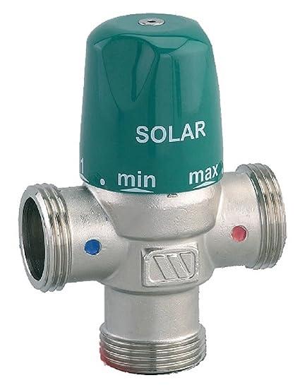 """Válvula Termostática Solar MMV-S 1"""". Pasa ..."""