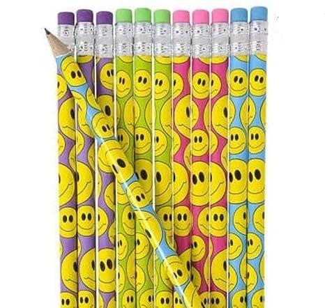 Emoji lápiz, 7.5-inch 4 docenas 48 Count uso como Recompensa ...