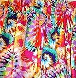 Valance Tye Dye Curtain Window Treatment Topper Retro Custom Made Vintage Look Review
