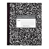 Roaring Spring Marble Cover Composition Book, Wide Rule, 8-1/2 x 7 Inches, 48 Pages (77333) by Roaring Spring