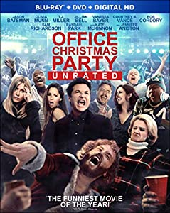 Cover Image for 'Office Christmas Party [Blu-ray + DVD + Digital HD]'