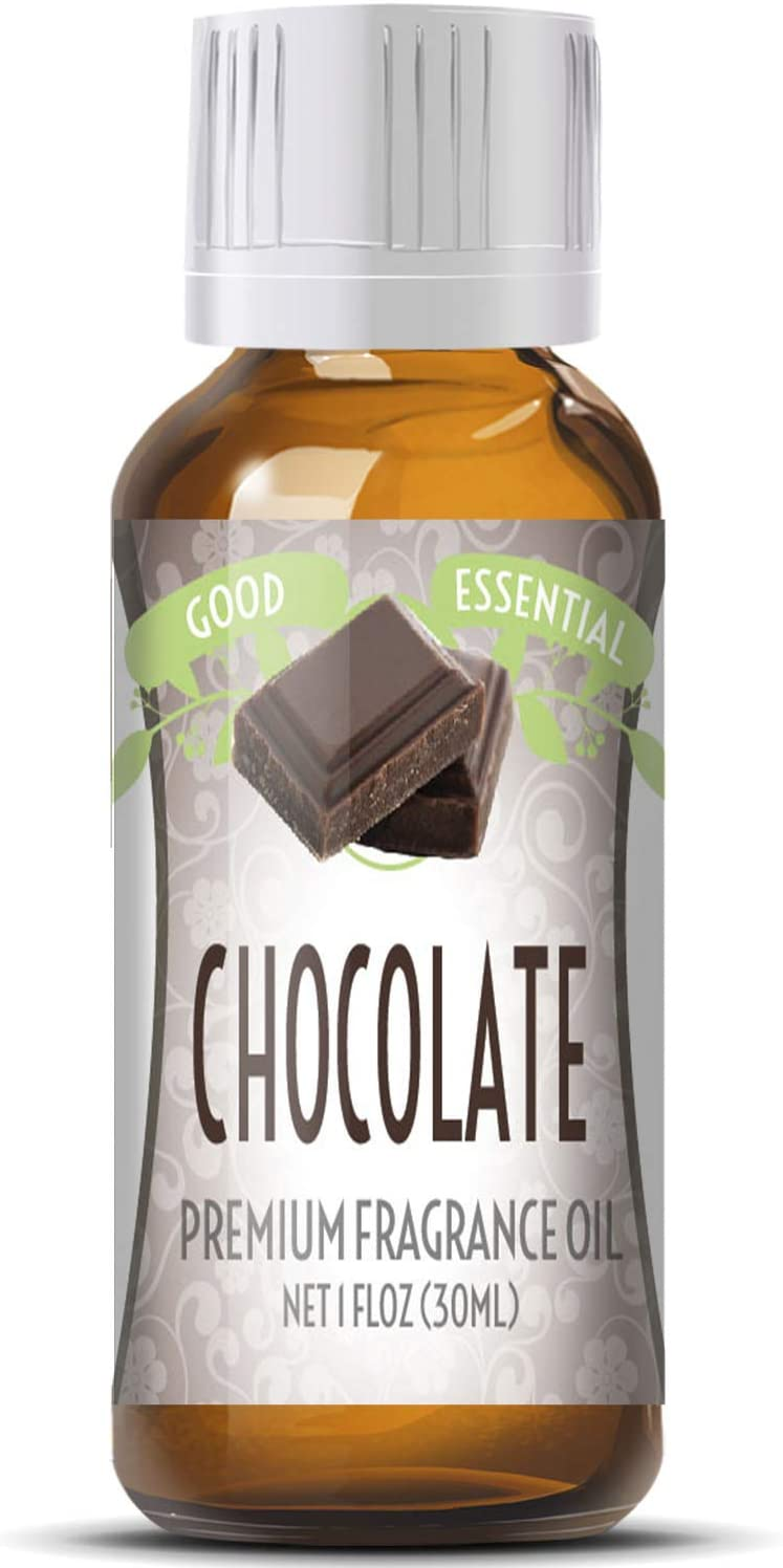 Chocolate Scented Oil by Good Essential (Huge 1oz Bottle - Premium Grade Fragrance Oil) - Perfect for Aromatherapy, Soaps, Candles, Slime, Lotions, and More!