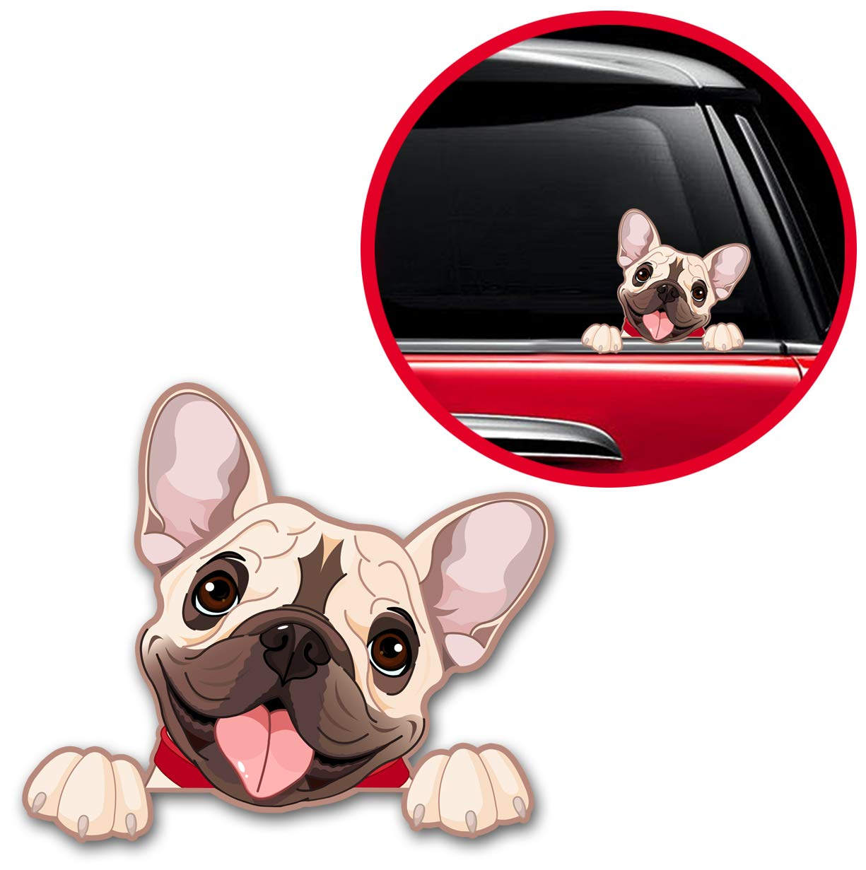 French Bulldog Dog Pet Sticker Decal Vinyl B 232