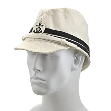 29e7efa20bf Amazon.com  World War Supply Japanese WW2 Naval Officers Soft Cap ...