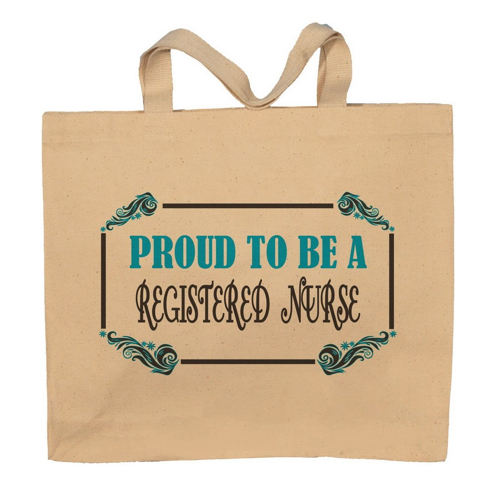 Proud To Be A Registered Nurse Totebag Bag
