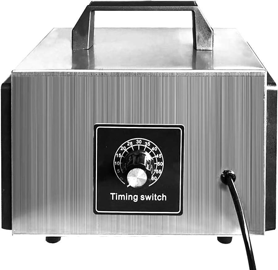 Cucina 220 V Auto Ufficio Hotel Ozonizzatore per Ambienti per Casa Spina UE Nishore Generatore di Ozono Commerciale Professionale 10G // h Formaldeide Rimuovere Purificatore dAria con Timer