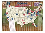 quest posters - Personalized Ballpark Travel Quest Poster Set