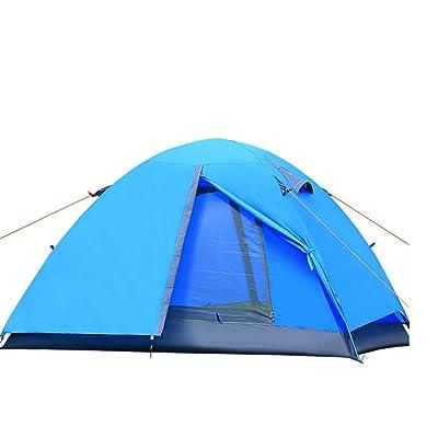 Lits Superposés Tente Extérieure Couple De Camping,Blue