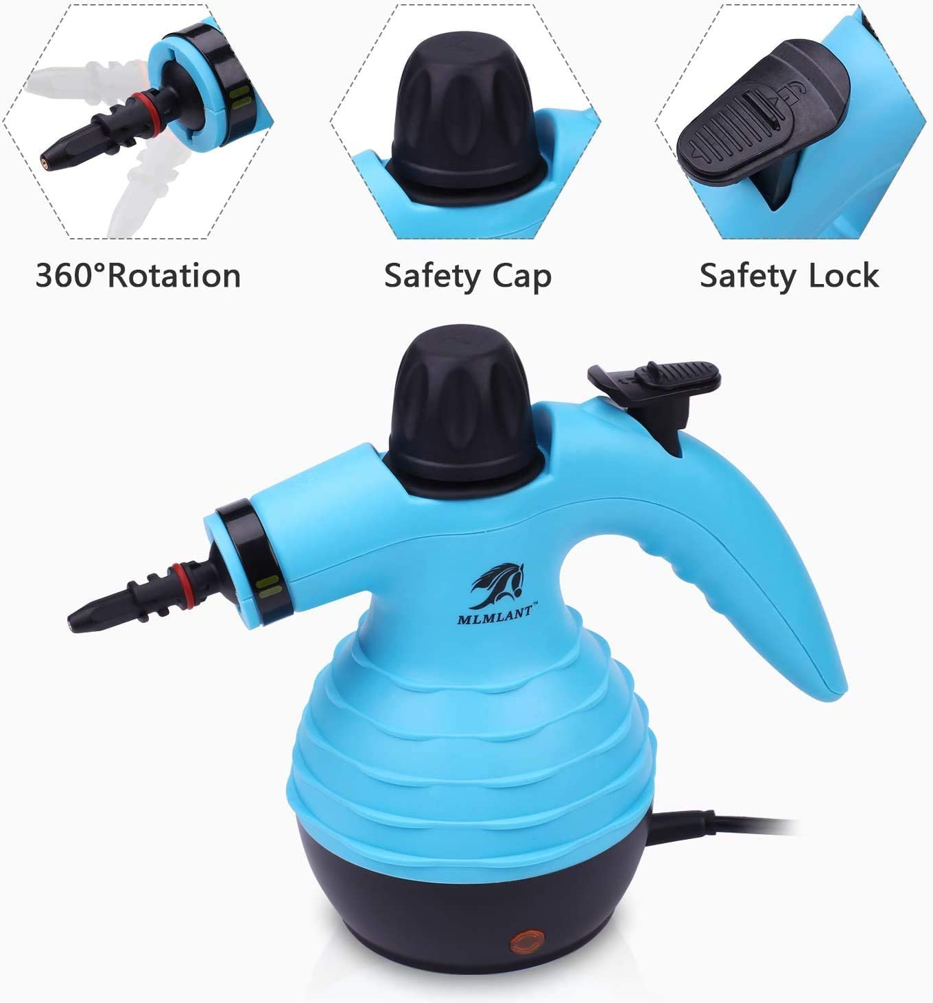 MLMLANT Multiuso Purificador Limpiador de vapor para la ...