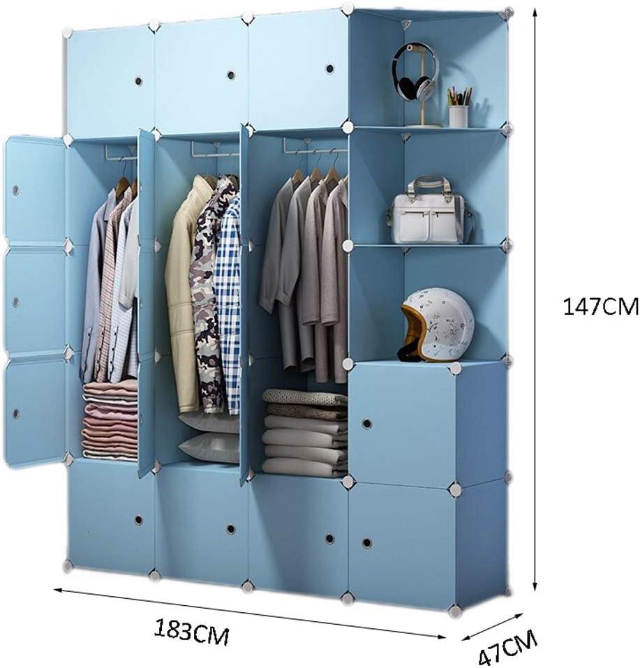 Portable Wardrobe Convenient Wardrobe Bedroom Resin Closet Simple