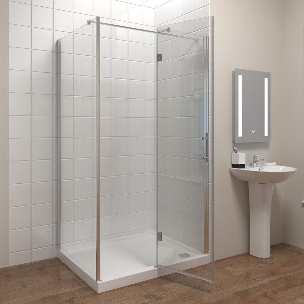 80 * 80 cm Mampara de ducha EchtGlas ducha pared puerta de ducha ...