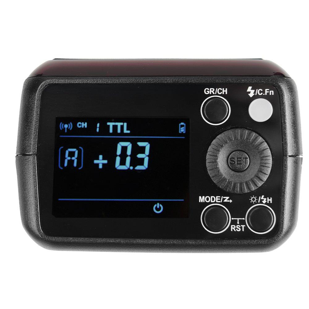 Godox AD200 Pocket Flash and H200R Ring Flash Head Set, 200Ws 2.4G TTL Strobe Flash 1/8000s HSS Cordless Monolight with 2900mAh Lithium Battery Bare Bulb by Godox (Image #4)