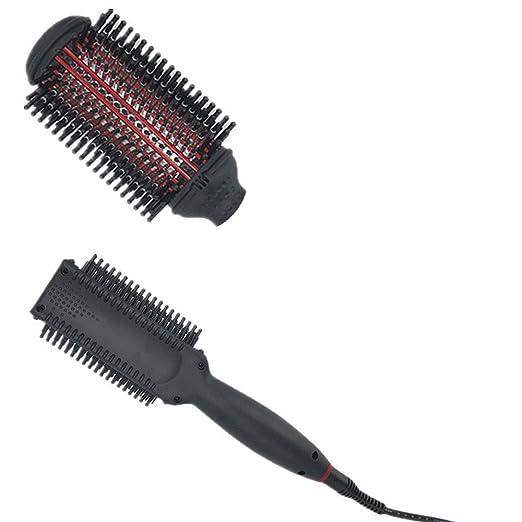 Cepillo Alisador Electrico de Negativo ión peine para el pelo recto filo multifunción: Amazon.es: Belleza