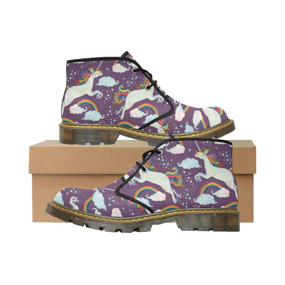 Artsadd Unique Debora Custom Women's Nubuck Chukka Boots Ankle Short Booties B0795KYXC9 9.5 B(M) US|Multicolored9