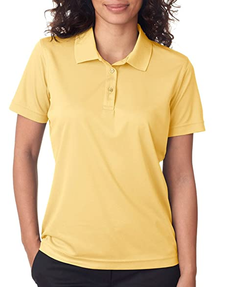 704fca8d Image Unavailable. Image not available for. Color: UltraClub Cool & Dry  Women's Moisture Wicking Polo Shirt ...