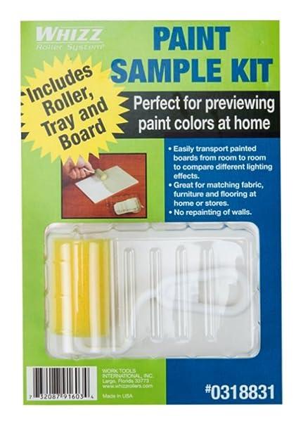 Whizz Paint Sample Kit 6pk Amazoncom