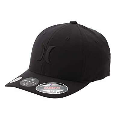 timeless design 43831 3e3c6 Hurley AO4101 Mens Boys Dri-Fit One and Only Hat, Black Black -