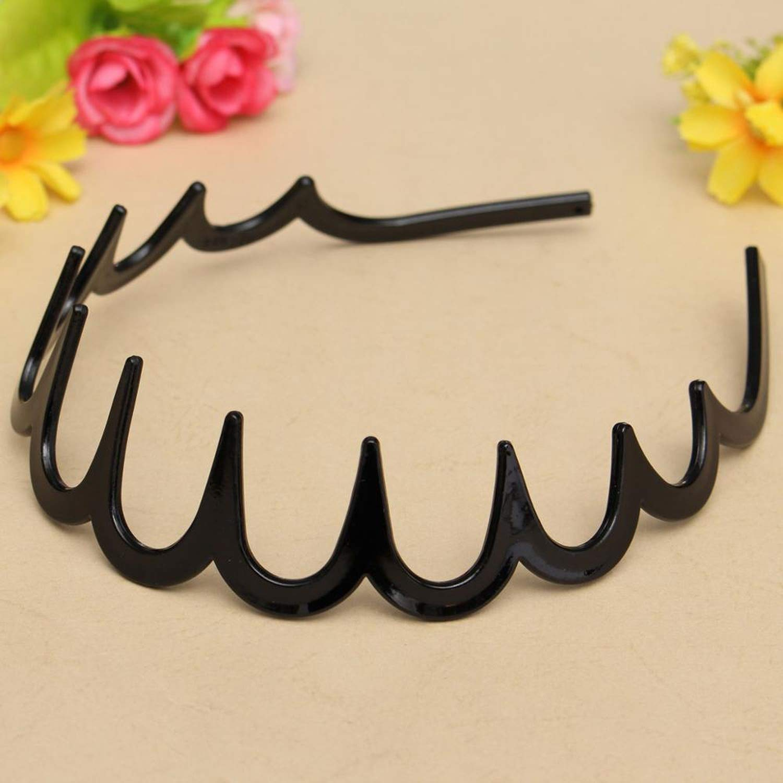 Hairbands Feather Classic Acrylic New Women Hair Zig Zag Sharks Tooth Alice Strap Headband Accessory