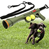 Dog Tennis Ball BazookaToy Launcher for Pet Training Throw Fetch Play Outdoor