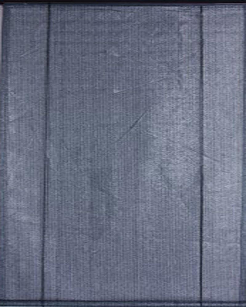 Vela de sombra vertical con enrollador pizarra, perforada ...