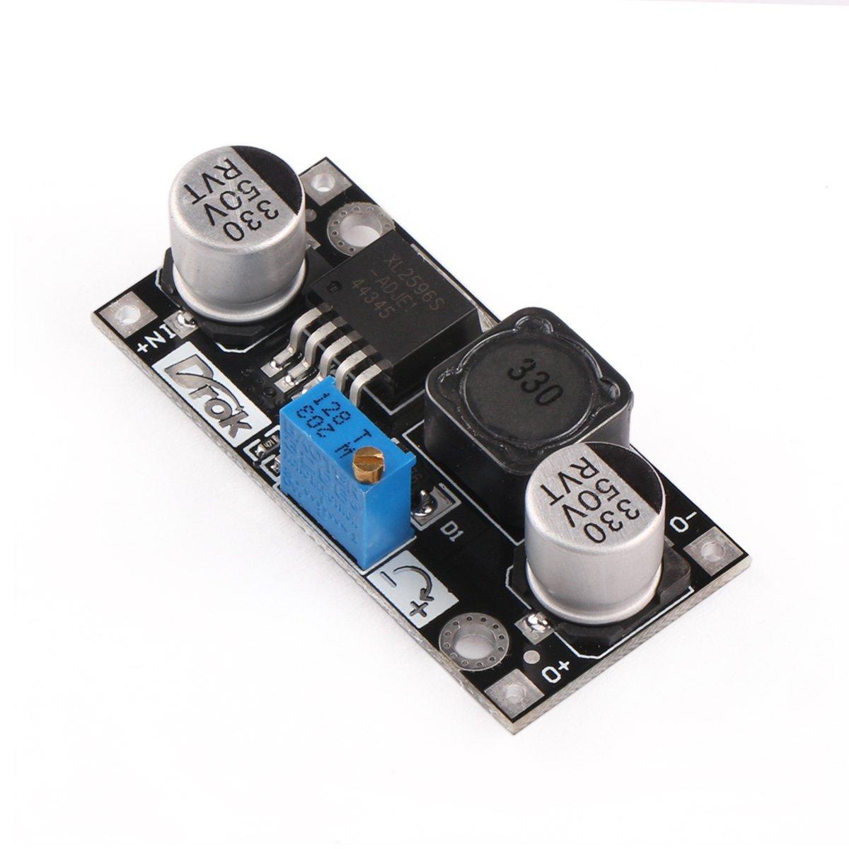 Dcdc Converter Drok Step Down Voltage Regulator Module Dc 45 40v Divider To Say A 12v Power Supply 5v 36v 24v 125 37v 9v 3v Variable Buck Adjustable Electronic