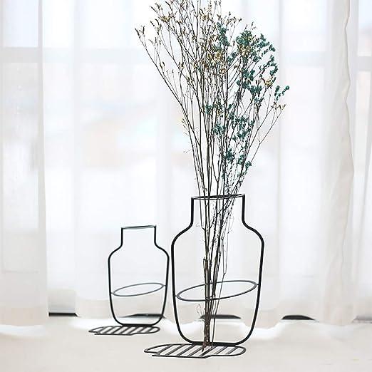 Amazon.com: ZYER - Jarrón decorativo de alambre de hierro ...