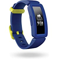 Fitbit Ace 2 Activity Tracker, Night Sky & Neon Yellow